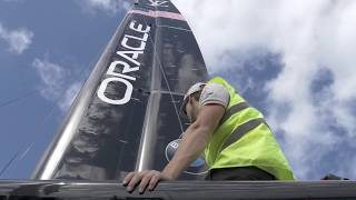 Download America's Cup 2017, AC50 Yacht, May 22 2017 Video