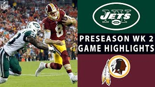 Download Jets vs. Redskins Highlights | NFL 2018 Preseason Week 2 Video
