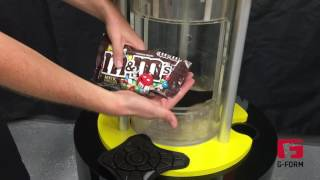 Download G-Form Bowling Ball Drop Demonstration with M&Ms Video