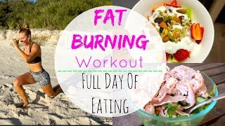 Download At Home Fat Burning Workout + Full Day of Healthy Eating Video