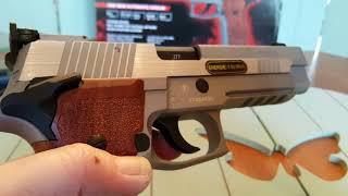 Download Sig Sauer P226 X-FIVE-Stain Co2 SBB 4,5mm Deutsch/Analyscheck by WPU Video