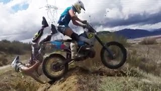 Download Epic Motocross & Funny Enduro Dirtbike Crashes 2016 Video
