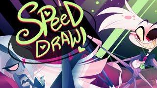 Download SPEED DRAW- Classic Rivals (Hazbin Hotel)-Vivziepop Video