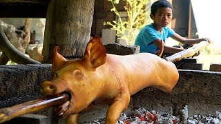 Download Village Lechon in Pampanga (BETTER THAN CEBU?!) My FAVORITE food in the Philippines!! Video