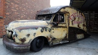Download Taxi Transformed Into Rat-Rod In Seven Days | RIDICULOUS RIDES Video
