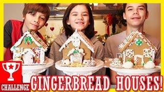 Download GINGERBREAD HOUSE CHALLENGE | KITTIESMAMA Video