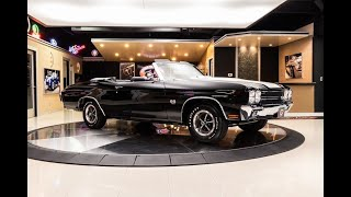 Download 1970 Chevrolet Chevelle Convertible For Sale Video