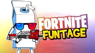 Download Fortnite Battle Royale FUNTAGE! - Trickshots, JUICY Pickles & More! Video