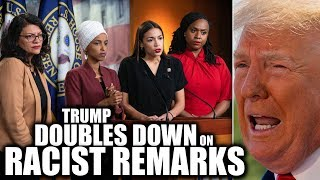 Download Ocasio-Cortez's Squad Responds to Trump's Racist Tirade After He Attacks Them AGAIN Video