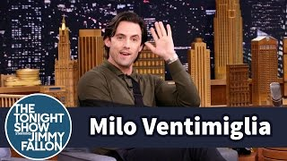 Download Milo Ventimiglia Surprises a Fan Watching This Is Us During Filming Video