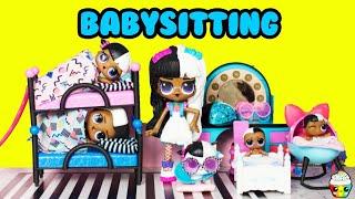 Download LOL Surprise Babysitting Disaster Big Sister Baby Next Door Family Video