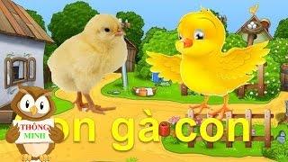 Download Dạy bé học các con vật Tiếng Việt | tiếng kêu con mèo con gà con| dạy trẻ thông minh sớm tieng viet Video