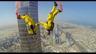Download Burj Khalifa Pinnacle BASE Jump - 4K Video