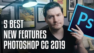 Download 5 BEST NEW Photoshop CC 2019 Features! Video