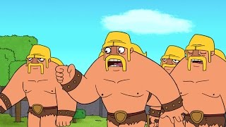 Download Clash-A-Rama! The Series: Ballad of the Barbarian Video
