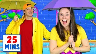Download Rain Rain Go Away - Nursery Rhymes and Kids Songs Collection - Popular Songs for Children Video
