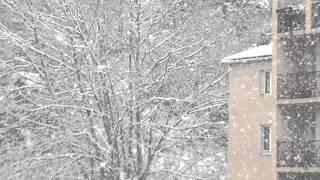 Download chute de neige à BASTIA dimanche 5 février 2012 17h30 Video