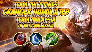 Download TEAM PHILIPPINES GRANGER HUMILIATED TEAM MALAYSIA IN NATIONAL ARENA Video