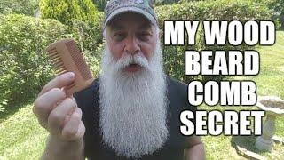 Download MY WOOD BEARD COMB SECRET Video