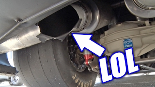 Download Muffler EXPLODES On Twin Turbo Camaro! Video