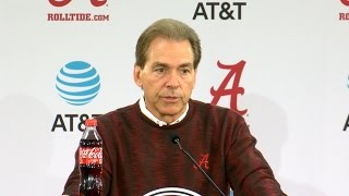 Download Alabama coach Nick Saban previews 2016 SEC Championship game vs Florida Video