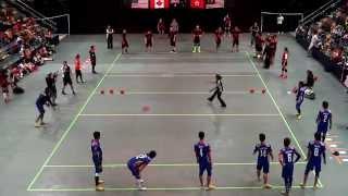 Download 2014 WDBF Men Bronze HK vs Malaysia 1st Half Video