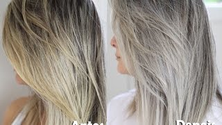 Download Como desamarelar o cabelo loiro / Cabelo Platinado - Resenha Specialist Blond Amend Video