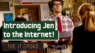 Download Moss Introduces Jen To The Internet | The IT Crowd Series 3 Episode 4: The Internet Video