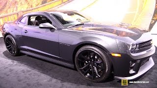 Download 2015 Chevrolet Camaro ZL1 - Exterior and Interior Walkaround - 2014 LA Auto Show Video