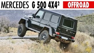 Download Mercedes G-Class (2015) OFF ROAD Test Drive - G500 4x4² Video