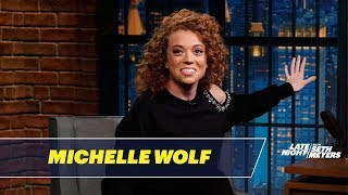 Download Michelle Wolf Tells Jokes She Wasn't Allowed to Write for Late Night Video