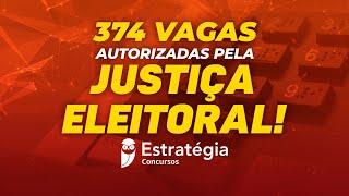 Download 374 vagas autorizadas pela Justiça Eleitoral! Video