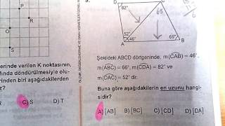 Download 26 NİSAN 2017 TEOG MATEMATIK CEVAP ANAHTARI Video