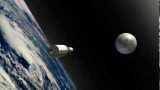 Download Apollo 11 moon landing animation Video