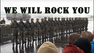 Download Swiss Army Dance - We Will Rock You (Zug Moersen) Video