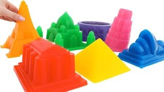 Download DIY Soft Jelly Gummy Giant Rainbow City Learn Colors Surprise * RainbowLearning Video