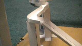 Download Awesome Marble Run With a Double Loop, Funnels, Spirals, and a Jump Video
