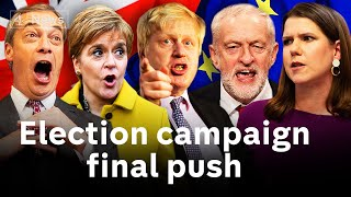 Download Will Johnson get his 'Get Brexit done' majority? Video