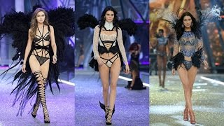 Download Gigi Hadid, Kendall Jenner & Bella Hadid at The Victoria's Secret Fashion Show 2016 Video