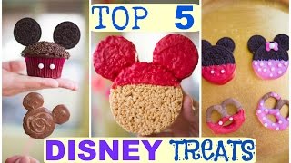 Download Top 5 Disney Treat Ideas! Mickey and Minnie Mouse! Video