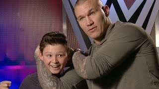 Download This kid thinks he can counter Orton's RKO?!, only on WWE Network Video