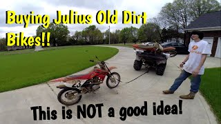 Download More Project Bikes!? Plus A Bad way to haul A dirt bike?!? Video