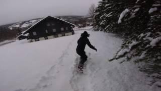 Download Vi lär oss Backflip på SNOWBOARD!!! Video