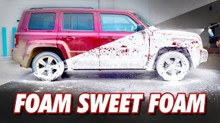Download Muddy Jeep vs. Foam Cannon | DETAILS WITH LEVI Video