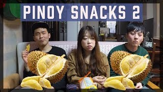 Download Koreans Try Filipino Snacks 2 / 필리핀 간식 맛보기 2탄 Video