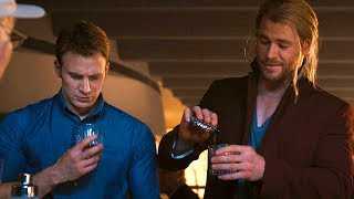 Download Superhero Party Scene - Stan Lee Cameo - Avengers: Age of Ultron (2015) Movie CLIP HD Video
