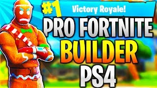 Download Pro Fortnite Player PS4! Level 100 | Top Builder | Fast Builder | 15k+ Kills! (TOP CONSOLE BUILDER) Video