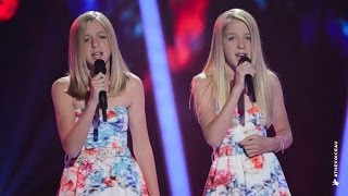 Download Katie and Emilie Sings Radioactive | The Voice Kids Australia 2014 Video