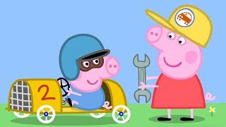 Download Peppa Pig English Episodes - Learn Transport with Peppa and Friends Part 2! Peppa Pig Official Video