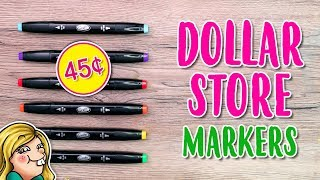 Download Trying Out DOLLAR STORE Markers Video